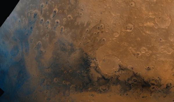 Meridiani Planum region of Mars