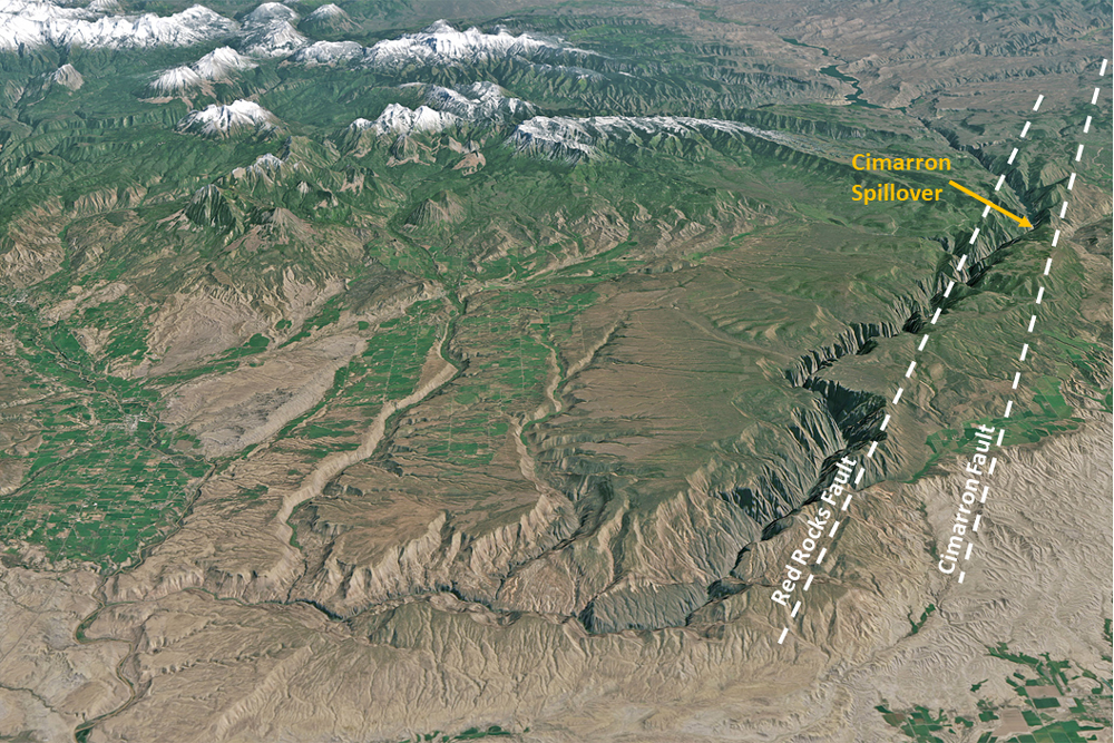 Course of the Gunnison River